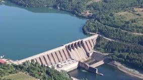 hydroelektrisk anläggningström arkivfilmer