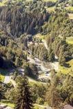 hydroelektrisk anläggning Arkivbild