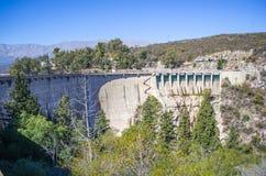 hydroelektrisk fördämning Royaltyfria Bilder