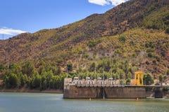 Hydroelektrisk installation Arkivbild
