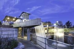 Hydroelektrisk installation på Arizona nedgångar royaltyfria foton