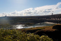 hydroelektrisk itaipuväxtström Arkivfoton