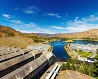 hydroelektrisk station Royaltyfri Fotografi