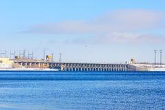 hydroelektriskt royaltyfri foto