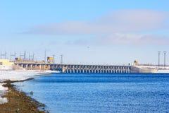 hydroelektriskt arkivfoto