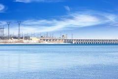 hydroelektriskt arkivfoton