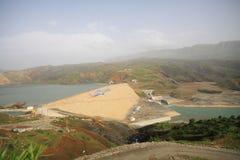 hydroelektriskt santral för alkumru royaltyfria bilder