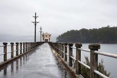 Hydroelektryczna stacja pomp Zdjęcia Royalty Free