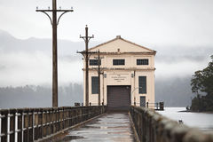 Hydroelektryczna stacja pomp Zdjęcie Royalty Free