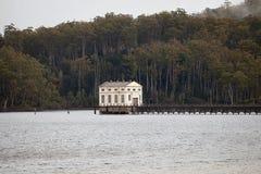 Hydroelektryczna stacja pomp Obrazy Royalty Free
