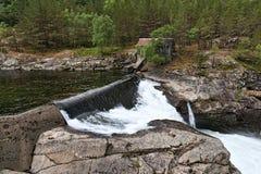 hydroelektryczna stara elektrownia Fotografia Stock