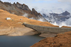 Hydroelektryczna tama Fotografia Royalty Free