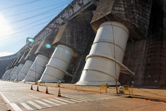 hydroeletric сила завода itaipu Стоковое Изображение