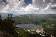 Hydrofördämning i Serbien Royaltyfria Foton