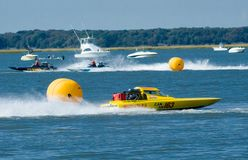 Hydrofest. Speedboat race at Hydrofest in Wildwood New Jersey Stock Images