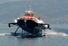 Hydrofoil Royalty Free Stock Photography