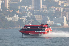 Hydrofoil ferry boat Stock Photography