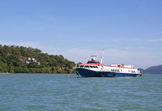 Hydrofoil passenger ship Royalty Free Stock Image
