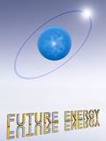 Hydrogen Atom. This image shows a single hydrogen atom Stock Photos