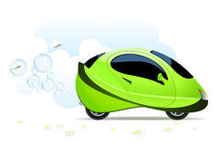 Hydrogen car concept Stock Image