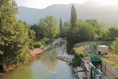Hydrokraftverk Arkivbilder