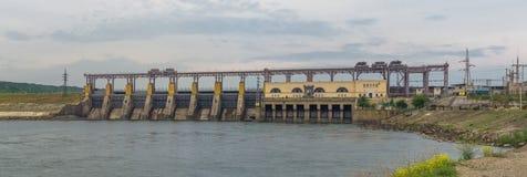 Hydrokraftverk Royaltyfri Bild