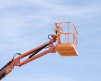 Hydrolic Arm und Aufnahmevorrichtung Stockfoto