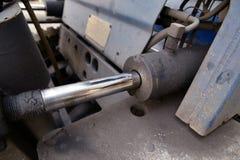 hydrolic pistong Fotografering för Bildbyråer