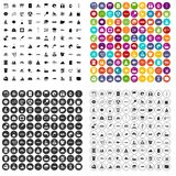 100 hydrology icons set vector variant. 100 hydrology icons set vector in 4 variant for any web design isolated on white Royalty Free Stock Photography