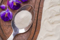 Hydrolyzed Collagen Stock Image