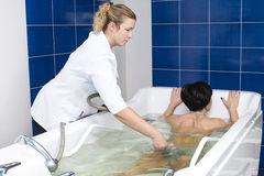 Hydromassage Royalty Free Stock Photography