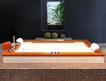 Hydromassage tub stock photography