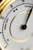 Hydrometer im Makro Stockfoto