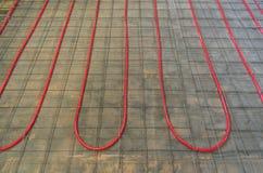 Hydronic нагревая трубопровод Pex стоковые фотографии rf