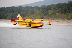Hydroplane Photographie stock