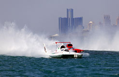 Hydroplane Action Royalty Free Stock Photos