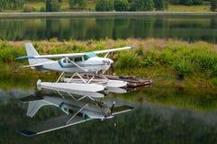 Hydroplane blisko rampy Zdjęcie Royalty Free