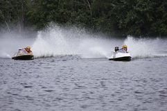 Hydroplane Boat Racing Stock Photography