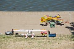 Hydroplane controllato radiofonico Fotografie Stock Libere da Diritti
