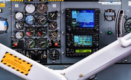 Hydroplane Dashboard Stock Image