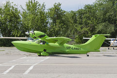 Hydroplane green Royalty Free Stock Photos