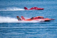 Hydroplane ras bij Chevrolet Kop Seattle Seafair Stock Fotografie