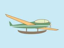Hydroplane seaplane transport aviation Royalty Free Stock Image