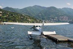 Hydroplanedetail, Foto eingelassenes Como, die Stadt auf dem See herein Stockfoto