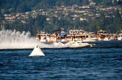 Hydroplanespeedboat royaltyfria foton