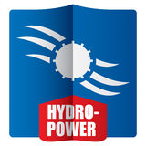 Hydropower concept Stock Photo