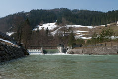 Hydropower station Royalty Free Stock Photography