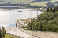 Hydropower station on Czorsztynski lake - Czorszty Stock Photography