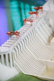 Hydropower Station model Royalty Free Stock Photo