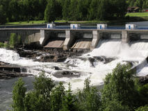 Hydropower station in Norway Stock Photography